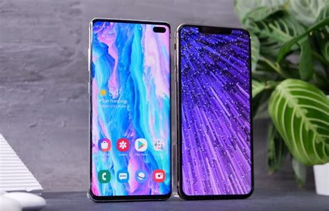 Samsung Galaxy S10 Vs Iphone Xs by Samsung Galaxy S10 Vs Iphone Xs Geeky Gadgets