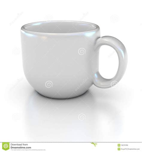 Meet U White Coffee blank white coffee cup stock illustration illustration of object 16279785