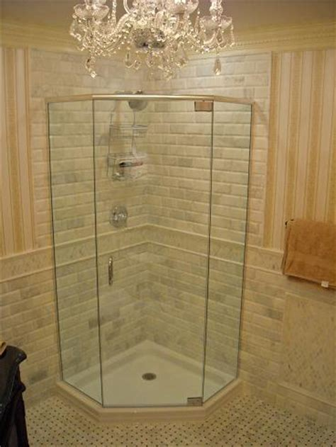 Neo Angle Frameless Shower Door South Jersey Shower Doors