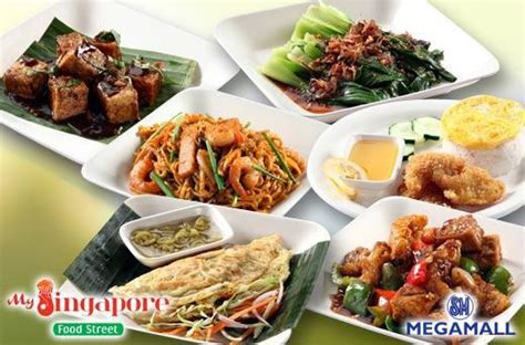 singapore food street restaurant sm megamall