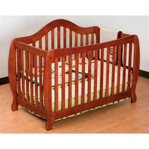 Stork Craft Ravena Crib by Stork Craft Monza 2in 1 Fixed Side Convertible Crib In Cognac