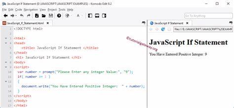 javascript pattern integer javascript if statement