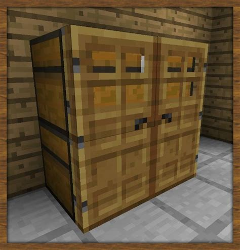 How To Build A Closet In Minecraft by Guide D 233 Co Salon Minecraft Furniture