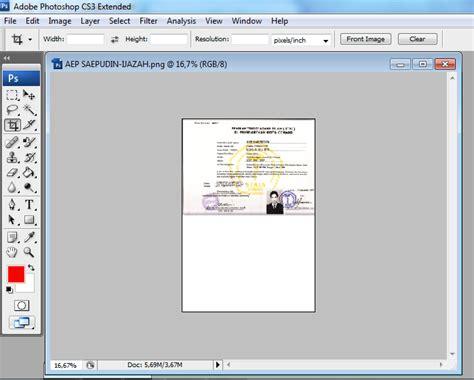 format gambar hasil scan cara mudah menggabungkan 2 hasil scan sk ijazah dengan