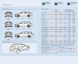 Dimensions Of Vauxhall Zafira Page 6 Of Vauxhall Astra Specifications 2007
