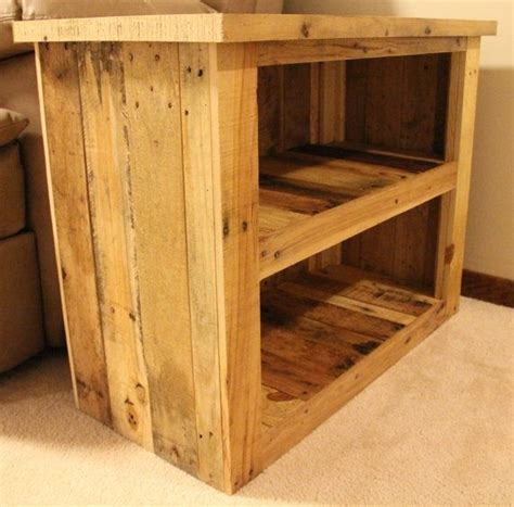 Reclaimed Wood Furniture Etsy reclaimed pallet wood furniture side table by fasprojects on etsy 200 00