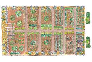 Ideal Vegetable Garden Layout Small Vegetable Garden Design Ideas How To Plan A Garden