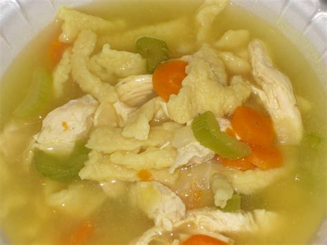 time for supper chicken noodle soup