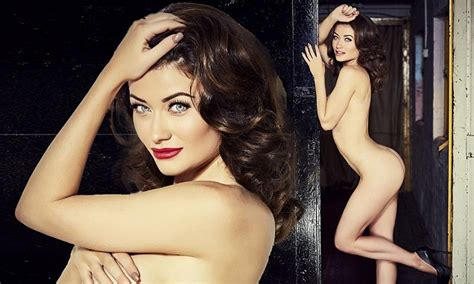 jess impiazzi parades her killer curves in nude snap daily mail online