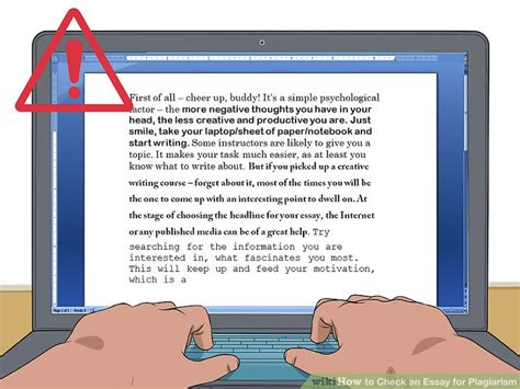How To Check If Essay Is Plagiarized by How To Check An Essay For Plagiarism 15 Steps With Pictures