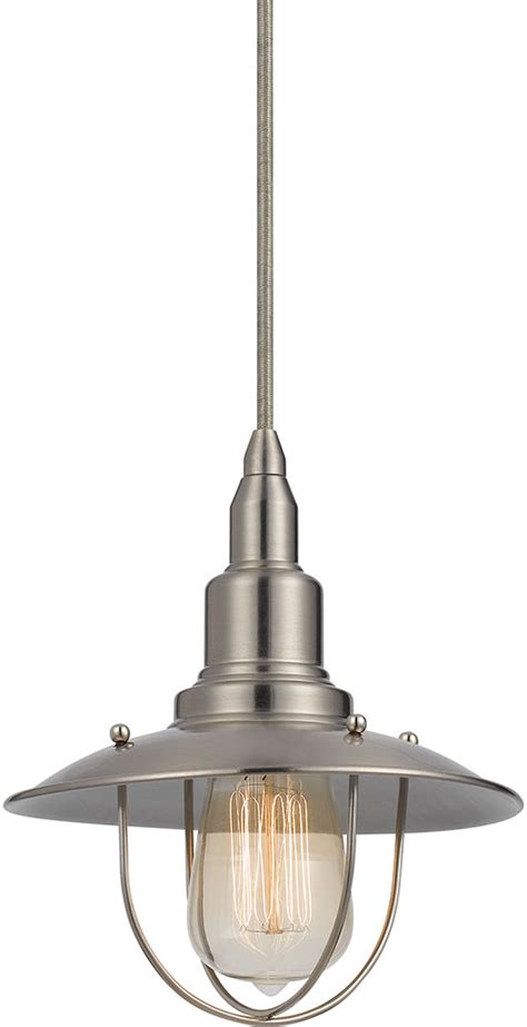 nautical kitchen lighting cal up 1113 6 bs allentown nautical brushed steel mini