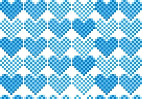 pixel pattern vector pixel heart pattern vector pack download free vector art