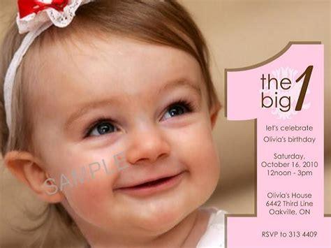 children s 1st birthday invitation wording birthday invitations sle easyday