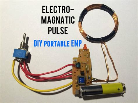 diy pulse capacitor emp generator