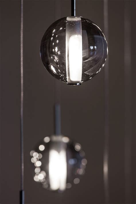 luminaire 3 suspensions globe suspension modern lighting by premiere luminaire contemporary living room montreal