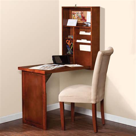 space saver desk the space saving foldout desk hammacher schlemmer