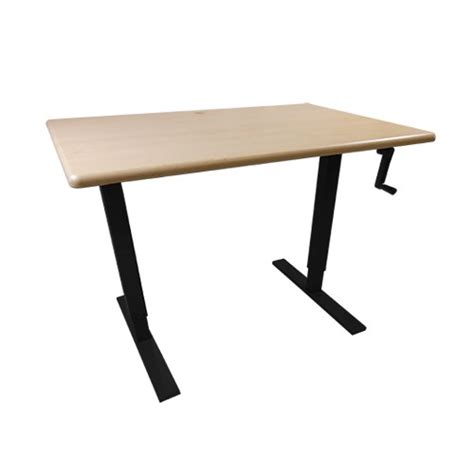 manual height adjustable desk relevate manual height adjustable desk base by imovr ergocanada detailed specification page