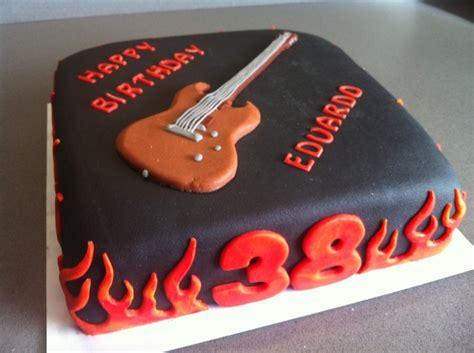 gitarren kuchen guitar birthday cake torte per tutti cake ideas