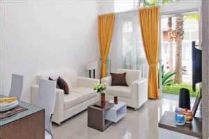 desain ruang tamu minimalis ukuran     meter