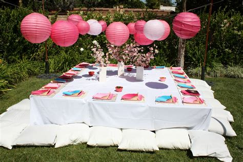 japanese themed events buttercream buzz japanese themed birthday party