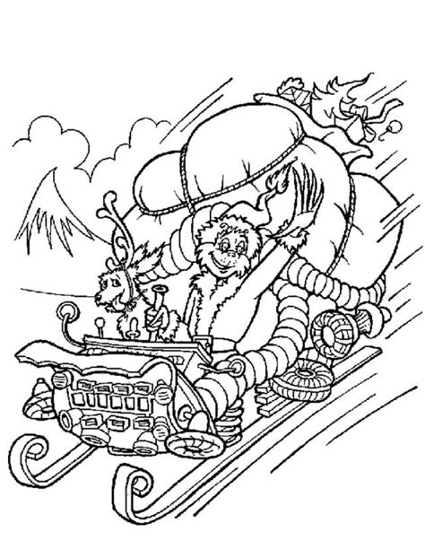 the grinch coloring pages pdf how the grinch stole christmas coloring pages free