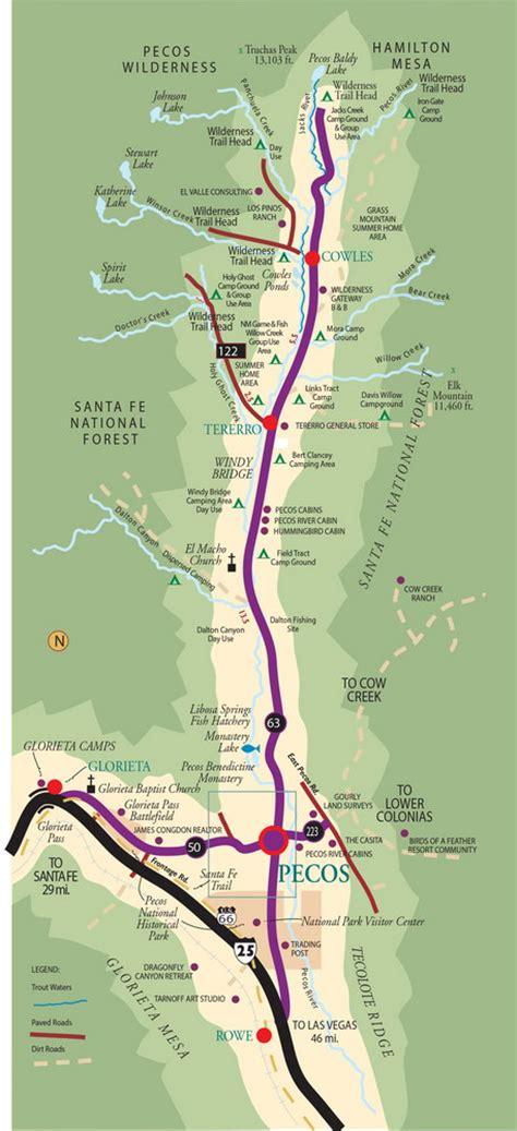 pecos texas map pecos maps