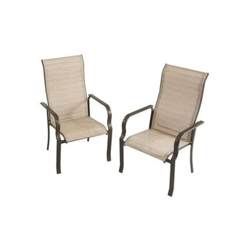 Home Depot Patio Chairs by Martha Stewart Living Cardona Patio Dining Chair Set Of 2