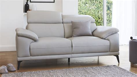 leather sofas 2 seater modern 2 seater real leather sofa living room uk