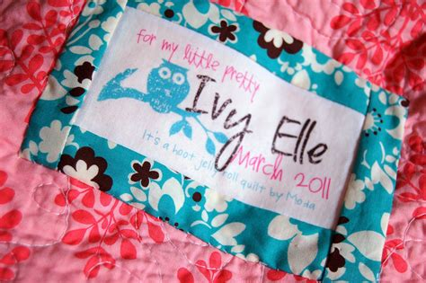 Handmade Labels For Quilts - diy quilt labels icandy handmade