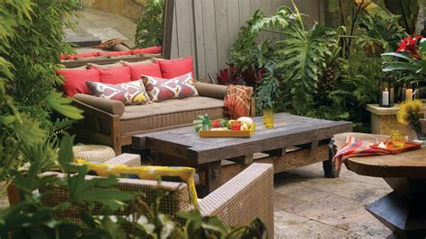 ideas for garden decorations sunset ideas for exotic outdoor decorations sunset