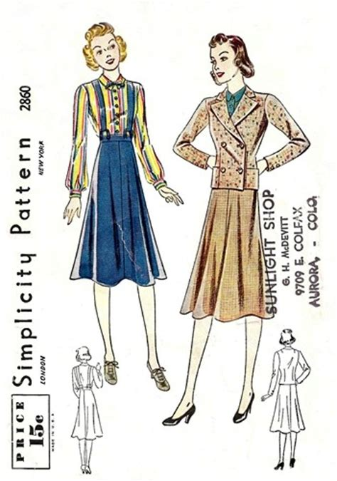 pattern review simplicity 2860 simplicity 2860 vintage sewing patterns