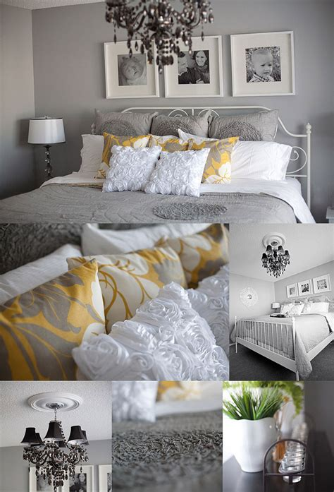 grey and yellow bedroom decor who i it with master bedroom planning