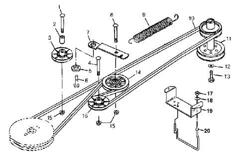 deere belt diagram 301 moved permanently
