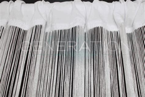 long curtain fringe white string or fringe curtain extra super long 3 feet