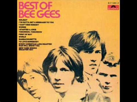 bee gees how is your testo i ve gotta get a message to you bee gees
