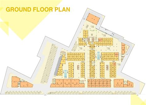 market floor plan orris market city commercial project in sector 89 gurgaon
