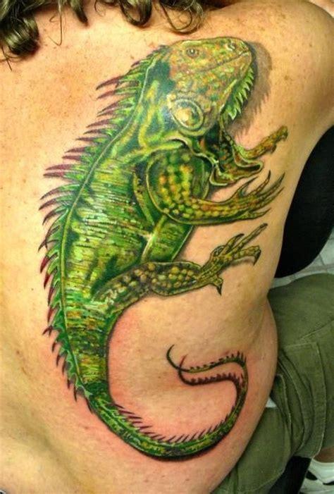 tattoo 3d lizard awesome 3d iguana tattoos designs тату pinterest