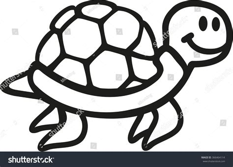 Turtle Outline Vector by Pics For Gt Turtle Outline