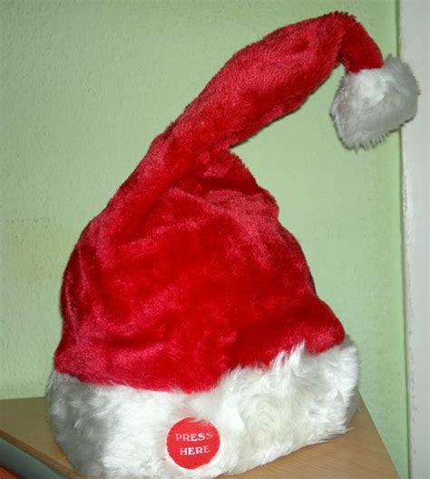 singing dancing santa hat xmas hat santa hat merry