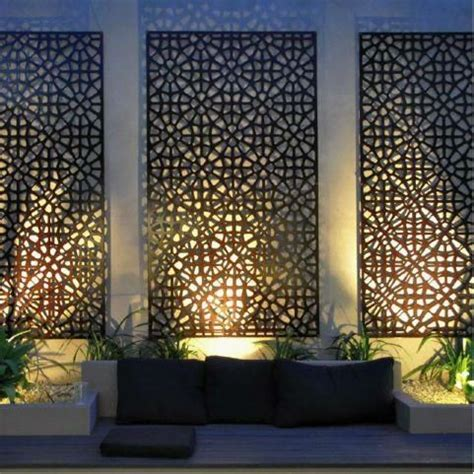 Garden Screen Panels by 25 Best Ideas About Outdoor Privacy Screens On