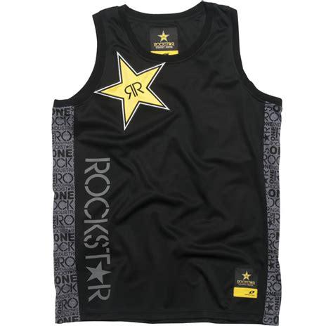 T Shirt Rockstar 08 one industries official rockstar energy lay up vest tank