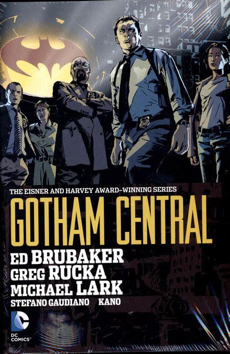 gotham central omnibus hc discount comic book service