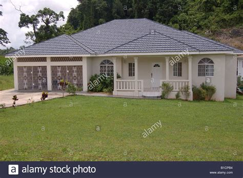 house mandeville beautiful house in mandeville jamaica w i stock photo