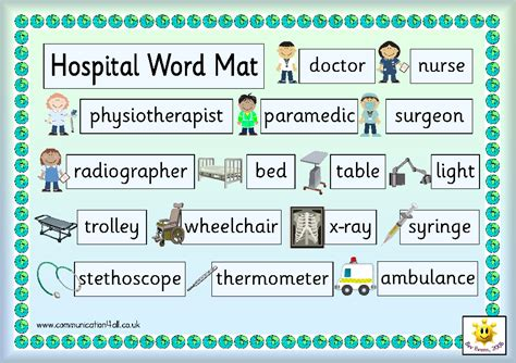 Word Mat by Who Help Us