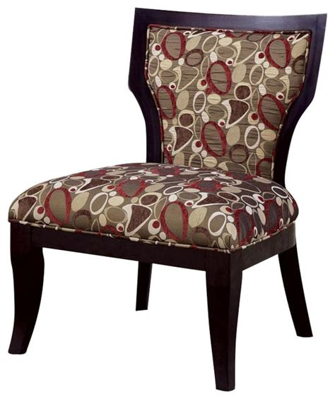 brown patterned chair coaster accent chair in oblong pattern brown cappuccino