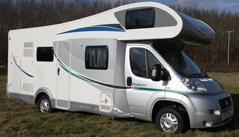 Built In Bunk Beds by Chausson Flash 25 7 Berth Motorhome