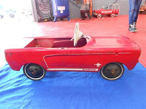 1960s mustang pedal car buffyscars