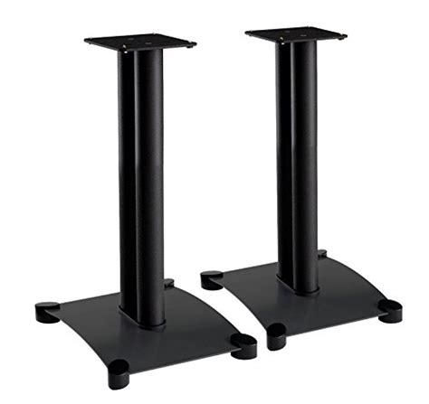 sanus steel series 22 quot speaker stands for medium to large