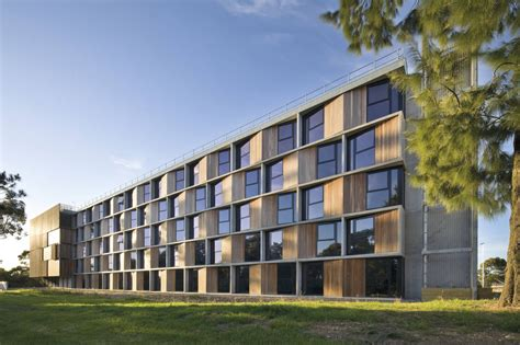 college appartment monash university student housing bvn archdaily