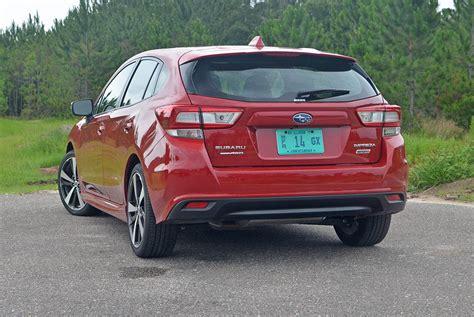 subaru impreza hatchback 2017 2017 subaru impreza 2 0i sport hatchback review test drive